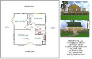 two bedroom 24x24 plan mostly small houses