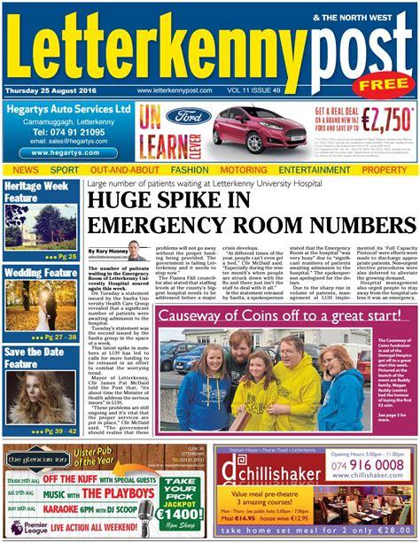pg hospital emergency room number letterkenny post 25 08 16 by river media newspapers issuu