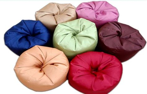 best bean bag material bean bag fabric standard size sateen only penang end