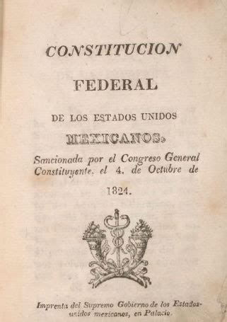 guiille constitucion de 1824 distant neighbors hispanic reading room hispanic division