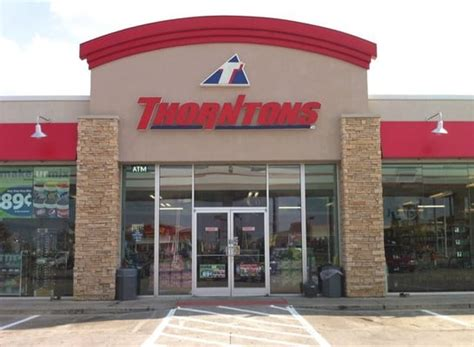 thorntons store 552 gas service stations west