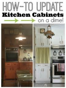 ways to update kitchen cabinets how to update kitchen cabinet doors on a dime