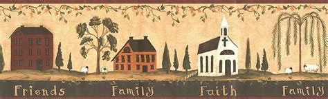country kitchen wallpaper border primitive vintage and primitive saltbox house wallpaper border ct1820bd country