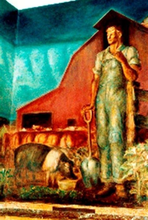 john steuart curry murals state capitol topeka