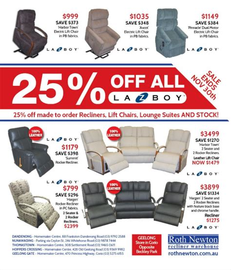 Lazy Boy Prices by Lazy Boy Recliner 25 Discounts On La Z Boy Recliners
