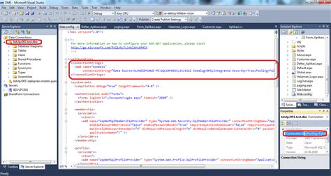 membuat koneksi html cara membuat koneksi menggunakan web config di c net