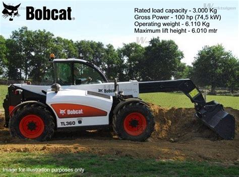bobcat tl bobcat machinery specifications