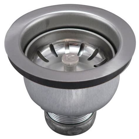deep basket strainer for kitchen keeney 1434ss deep cup strainer with power ball