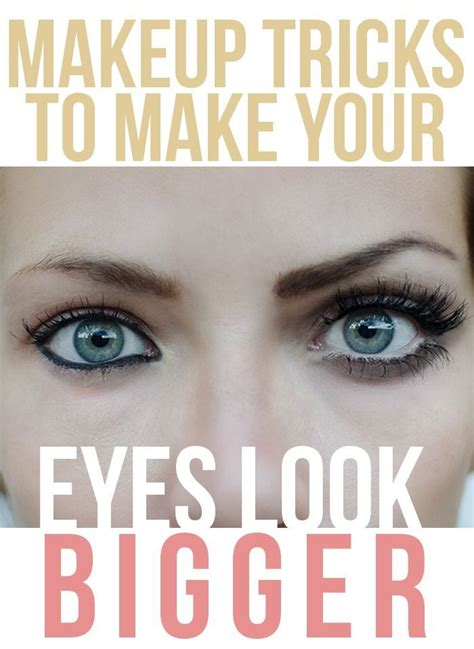 makeover tips 11 makeup tricks to make your eyes look bigger they always