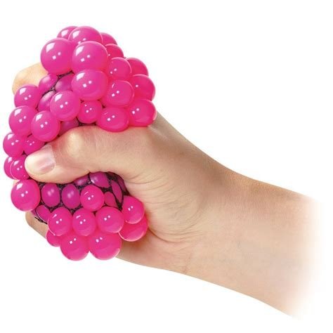 squishy mesh balls fidget stress toys squishes kids fun