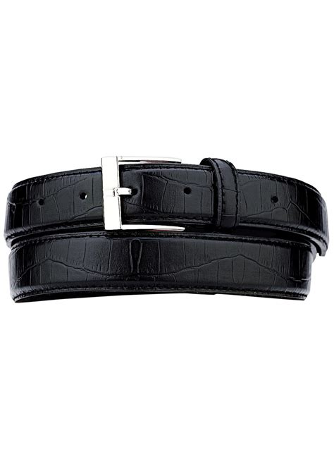 leather croc embossed belts carolwrightgifts