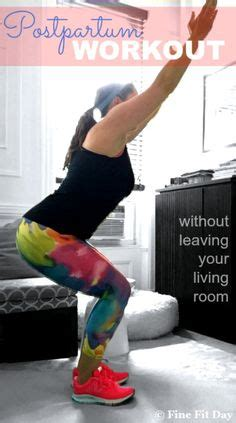 Best Living Room Exercise Equipment 1000 Ideas About Postpartum Workout Plan On