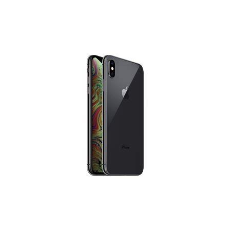refurbished apple iphone xs max 256gb space gray lte cellular talk tracfone mt5d2ll a
