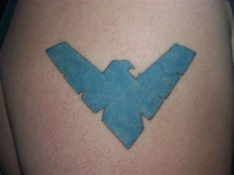 nightwing tattoo nightwing