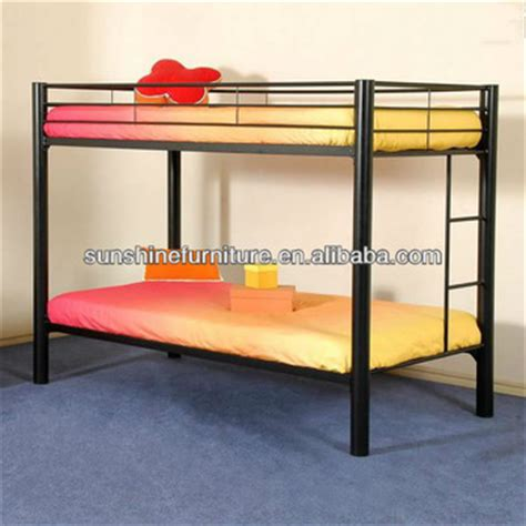 Steel Frame Beds Sale Steel Iron Frame Metal Bunk Beds Black For Sale Buy Metal Bunk Beds Metal Bunk Bed