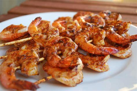 tailgating recipes week 6 garnet grilled shrimp