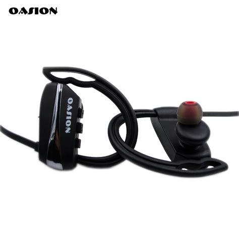 Headset Bass oasion sport bluetooth earphone waterproof earbuds stereo