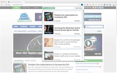 chrome extensions android the phandroid android news chrome extension chrome news reviews forum beyond