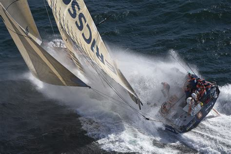 volvo the world yacht race the volvo race 11 crew members race together in an