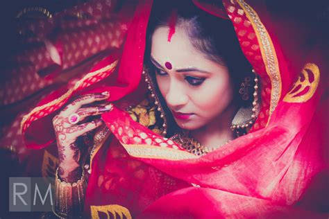 Indian Wedding Concept Photography by The Significance Of Colour And Indian Brides Ayoti