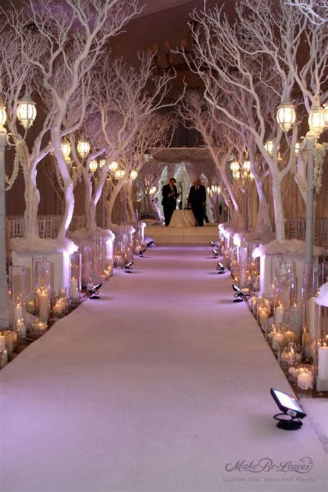 winter wedding tree centerpieces le fabuleux events presents one fab event winter wedding