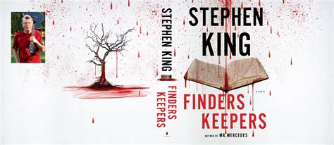 finders keepers books stephen king s finders keepers cover revealed
