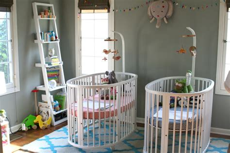 Exceptional Chambre Bebe Fille Orange  #11: Twin-Nursery-Boy-and-Girl.jpg