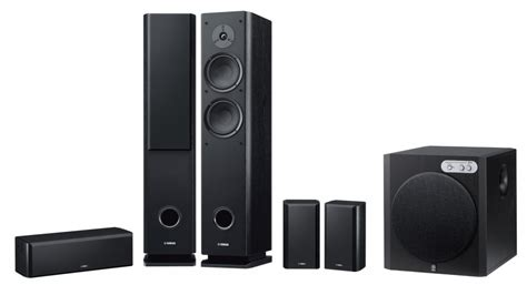 yamaha 5 1 channel speaker system speakers home