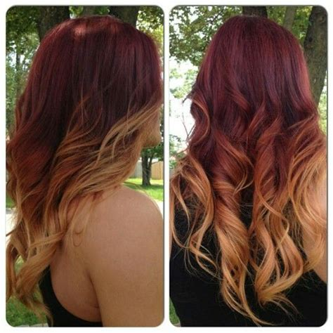fohawk with red highlights 1000 ideas about red to blonde hair on pinterest red to