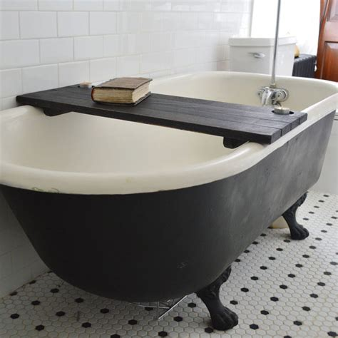bathtub shelf tub caddy custom ebonized tub caddy bathtub caddy bathtub tray