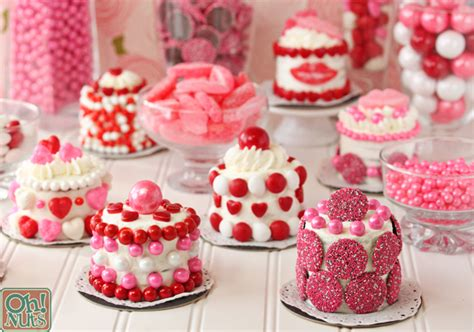 valentines cakes easy valentine s day mini cakes oh nuts