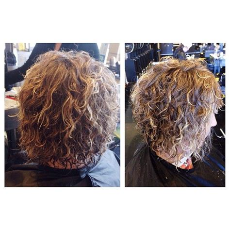 spiral perm rods for short hair 9 best medium length hair with grey and pink rods images