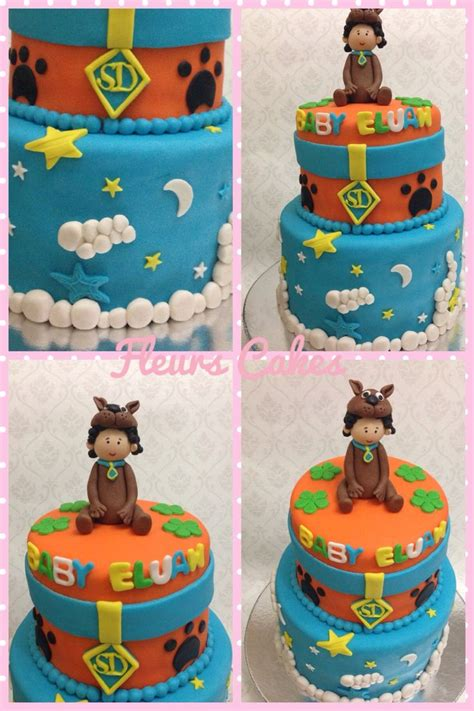Scooby Doo Baby Shower Decorations by Scooby Doo Theme For A Baby Shower Fleurs Cakes