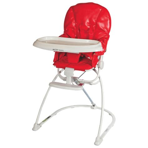 Reclinable High Chair by Guzzie Guss Reclining High Chair Gg203red