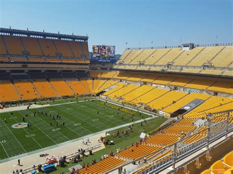 section 509 a 2 heinz field section 509 rateyourseats com