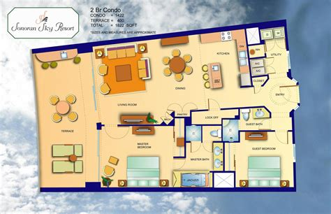 Auto Floor Plan Rates Rocky Point Sonoran Sky Sonoran Sky Resort Rocky Point