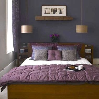 chambre adulte violet deco violet pour chambre meuble chene fonce