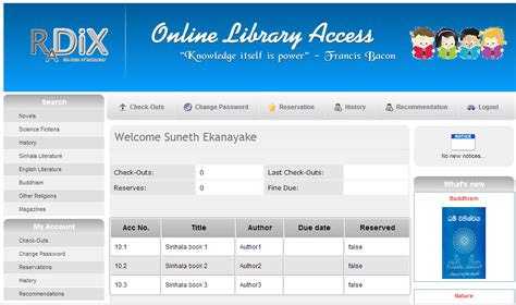 website templates for library management system web based library management system project topic