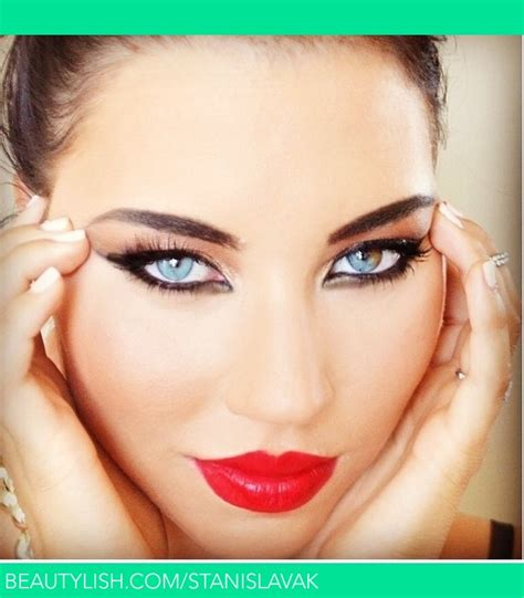 heavy makeup looks gallery heavy bright makeup stanislava k s stanislavak