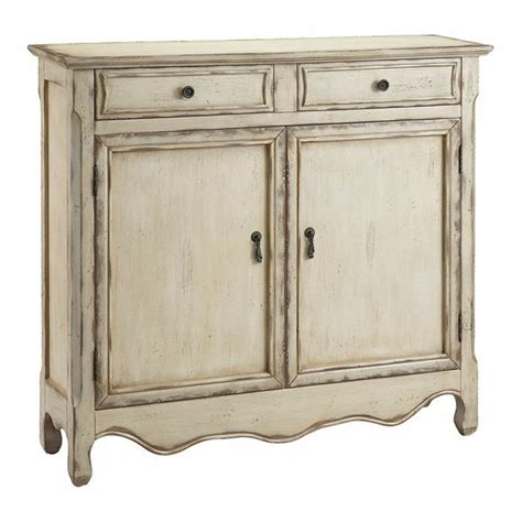 heidi accent cabinet in distressed an