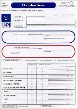 Inventaire Etat Des Lieux Meublé by Modele Etat Des Lieux A Remplir Document