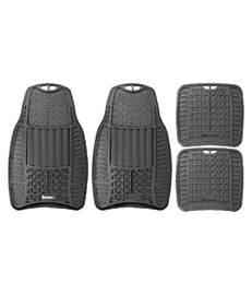 Car Floor Mats Buy India Michelin Black Car Floor Mat For All Car Models Set Of 4