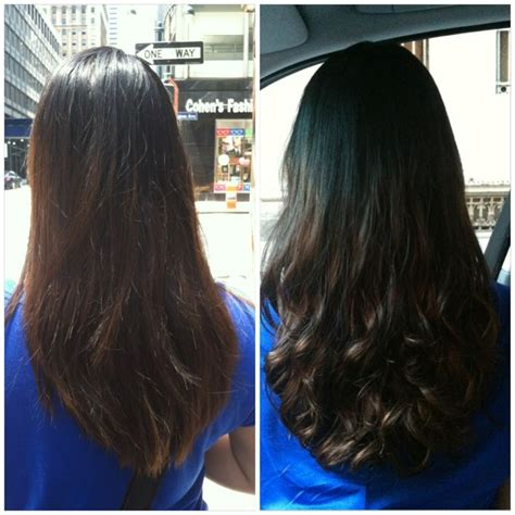 hair relaxer for asian hair my before and after digital perm beauty pinterest