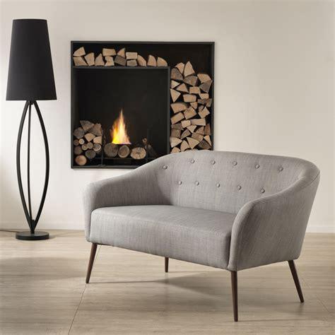 canapes modernes canap 233 2 places en tissu enea de design moderne