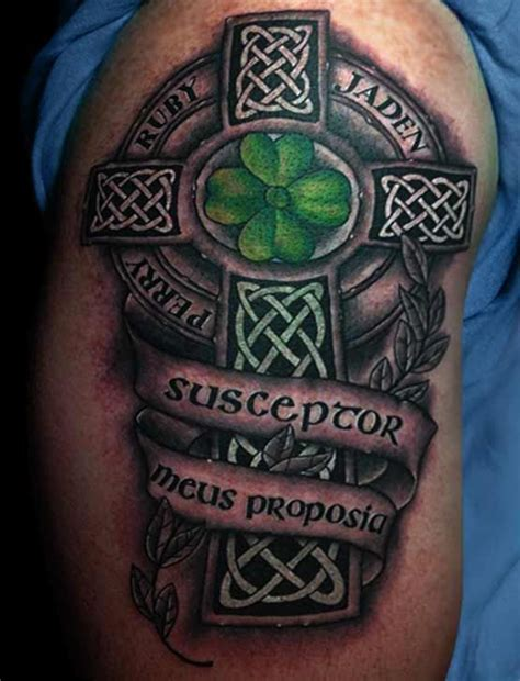 celtic cross tattoos with names celtic cross tattoos this style cross is hugely
