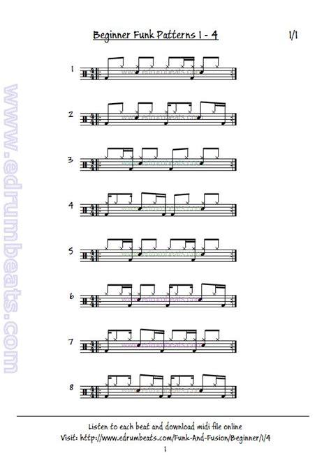 samba drum pattern midi 7 best linear drum patterns images on pinterest drum