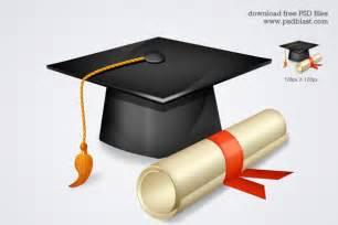 free high graduation icon psdblast