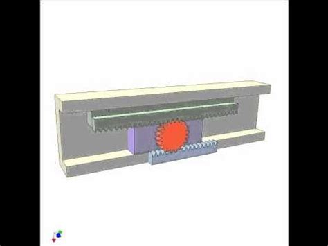 Rack Application Application Of Rack Pinion Mechanism 1