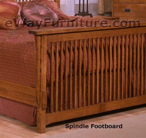 solid oak mission spindle bedroom set solid oak mission spindle bedroom set