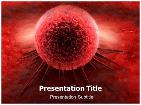cancer cell ppt powerpoint templates powerpoint